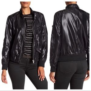 MEMBERS ONLY Helix Iconic Racer Black Jacket
